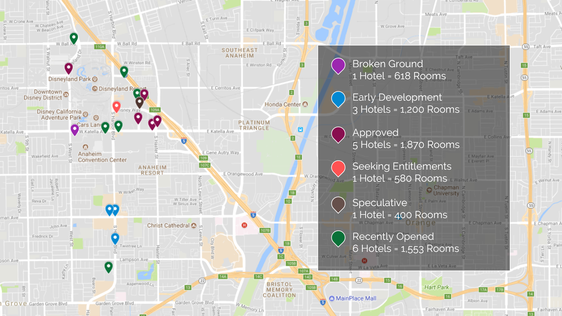 HVS | Market Pulse: Anaheim/Garden Grove Map Of Anaheim Hotels on crowne plaza anaheim, map of harbor blvd anaheim, weather anaheim,